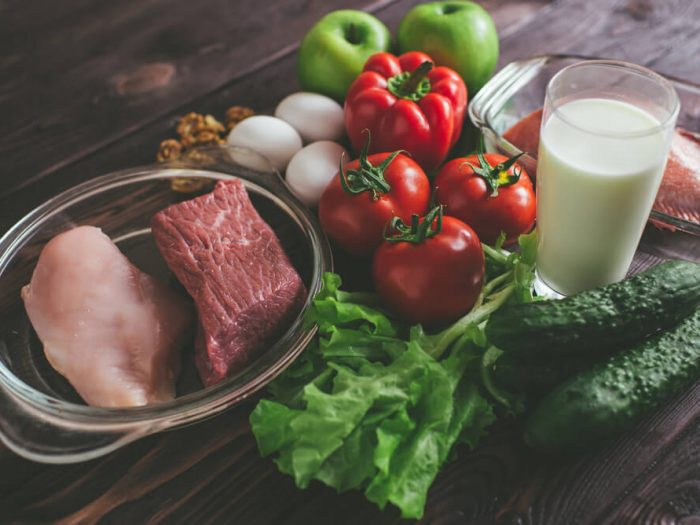 best diet for muscle gain 2018